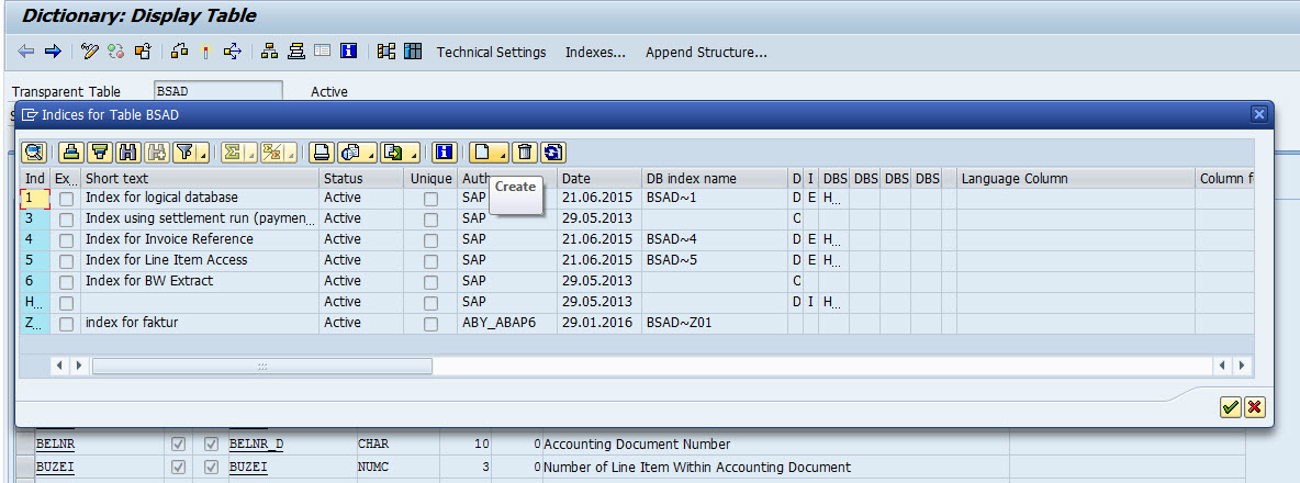 how-to-create-secondary-index-abap