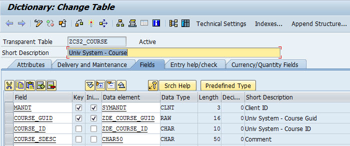 how-to-create-foreign-key-sap-table