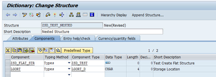 how-to-create-nested-structure-in-abap-dictionary-sap-2